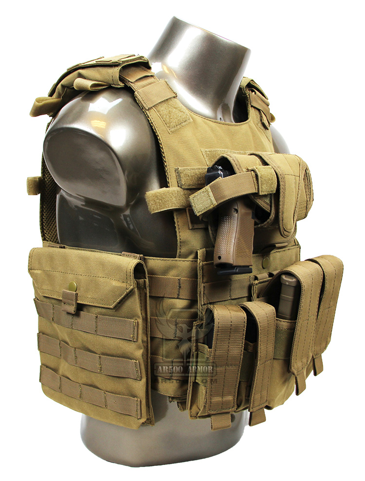 Quick Release Plate Carrier W Armor Amp Pouches Survival