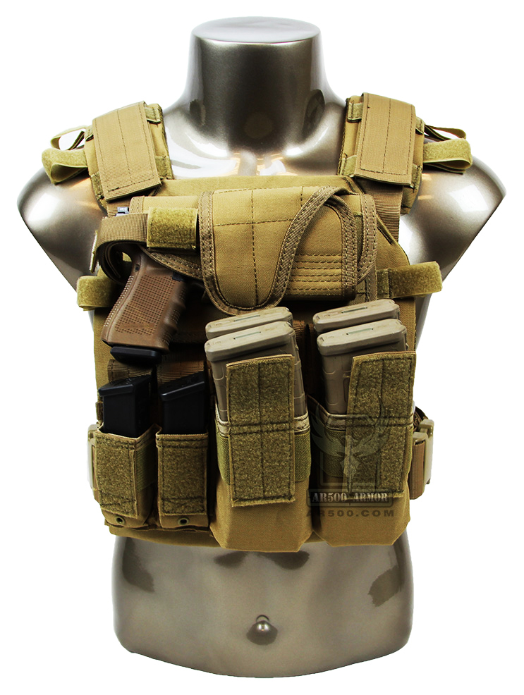 Ar500 Sentry Plate Carrier W Armor And Pouches Survival